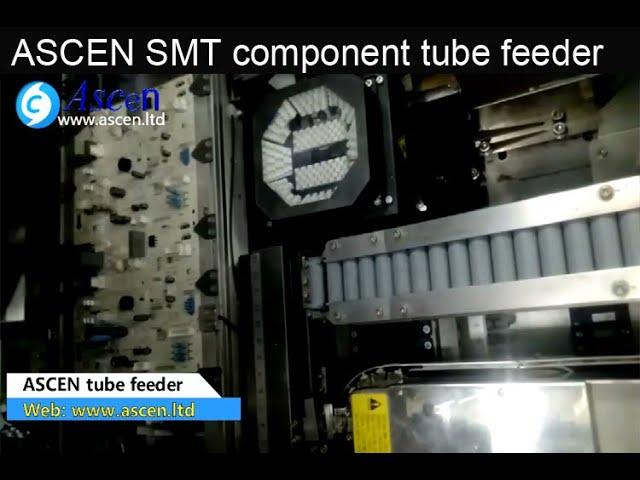 insertion machine tube feeder