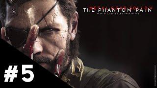 Metal Gear Solid V The Phantom Pain FR | Épisode 5 : L'autre côté de la barrière - Gameplay