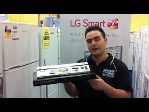 LG Network 3D Blu-ray Disc Player BD660