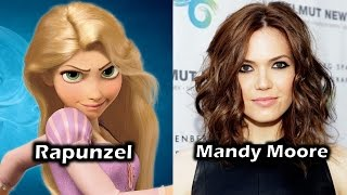 Characters and Voice Actors - Tangled