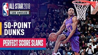 ALL 50-Point Dunks In NBA Slam Dunk Contest History - Video Youtube