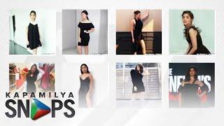 Kapamilya Actresses slaying in stylish little black dresses   Kapamilya Snaps