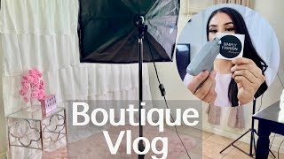 BOUTIQUE VLOG: I Got My Clothing Tags!!!