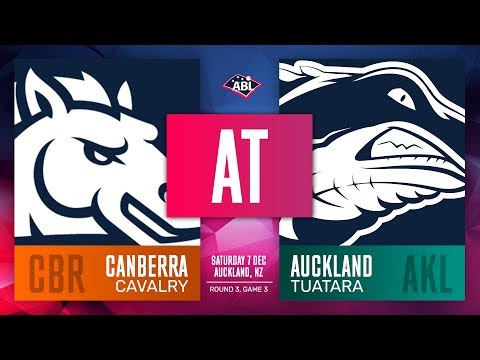 Canberra Cavalry @ Auckland Tuatara | Round 3, Game 3
