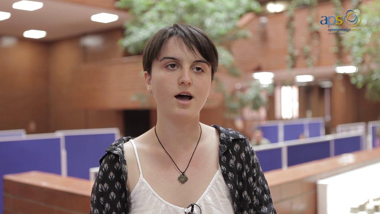 Experiència APS - L'aprenentatge servei al grau de Ciències Ambientals