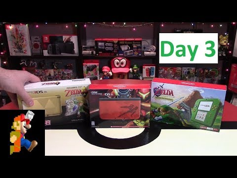 Nintendo Christmas Day 3: 3DS System (+ Daily Giveaway)