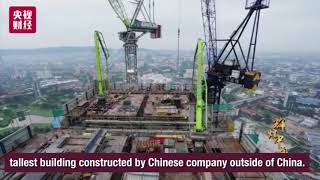 China builds Signature Tower in Malaysia, at a speed of one floor in three days