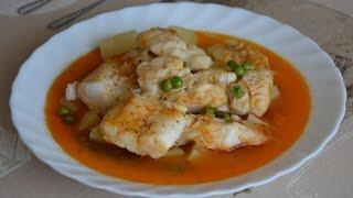 Мерлуза или Хек по галисийски. Испанская кухня