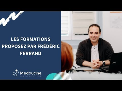 Les formations proposez par Frédéric Ferrand