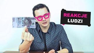 BANKNOT 500 zł - JAKIE SĄ REAKCJE LUDZI?