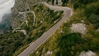 FLYING FPV ON THE BEST ROAD IN THE WORLD!! SA CALOBRA, MALLORCA. DJI FPV DRONE, GO PRO HERO 10!!