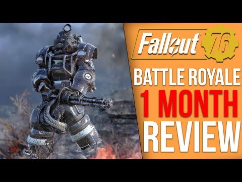 Fallout 76 Battle Royale - 1 Month Later