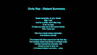 Chris Rea - Distant Summers