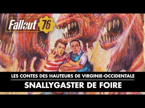 Contes des hauteurs de Virginie-Occidentale : Snallygaster de foire de Fallout 76