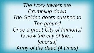 Domine - Army Of The Dead Lyrics