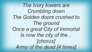 Domine - Army Of The Dead Lyrics