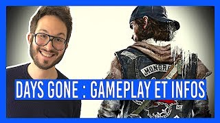 DAYS GONE PS4, INFOS et GAMEPLAY INÉDITS