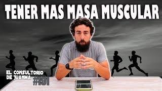 TENER MAS MASA MUSCULAR PARA CORRER MAS. Consultorio 191 💪.
