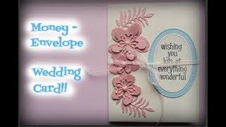 Money-envelope Wedding Card!!