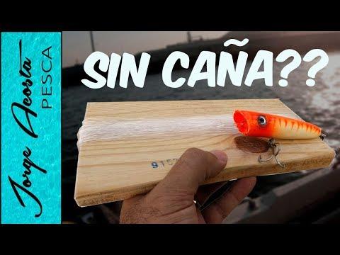 Pesca con Señuelo SIN CAÑA - Reto de pesca