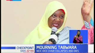 NCIC vice-chair Fatuma Tabwara collapses and dies in a wedding