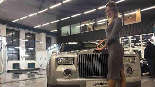 Роллс-Ройс для нищеброда. Старый Rolls-Royce Phantom Роллс-Ройс Фантом Елена Лисовская. Лиса рулит