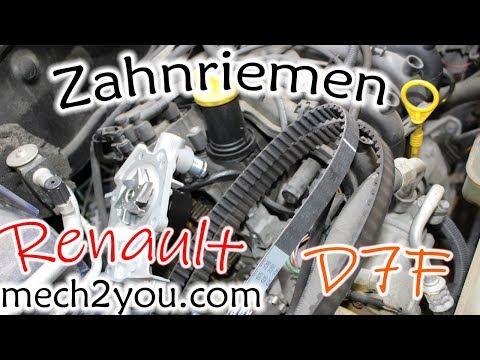 🛠️ Zahnriemenwechseln Renault Clio D7F + Wasserpumpe wechseln| timing belt change | DIY Auto Teil 1