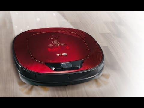LG Hombot Square Turbo, un robot aspirador con sistema de vigilancia