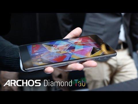 Archos Diamond Tab @ Geek's Live 2015