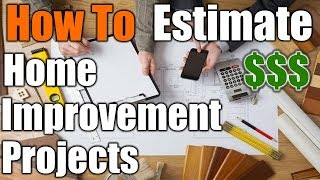 How To Estimate Home Improvement Projects From Your Phone | THE HANDYMAN |