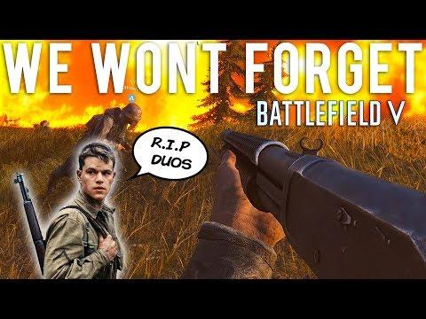 We won't forget Battlefield V