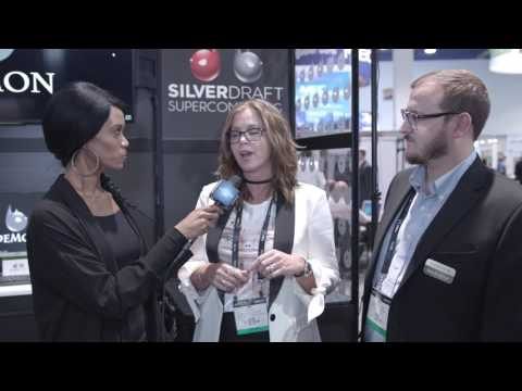 Nick Anderson of DigitalGlue at Silverdraft's NAB 2017 booth