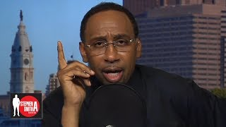 Stephen A. reacts to being blocked by Antonio Brown on Instagram   Stephen A. Smith Show