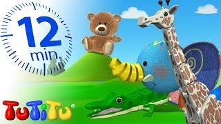 TuTiTu Specials | Animal Toys for Children | Giraffe, Elephant and More Animals!