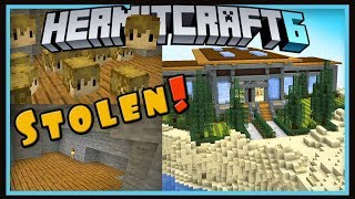Hermitcraft Season 6: My Grian Heads Stolen & Landscaping!  (Minecraft 1.13.2 survival  Ep.44)