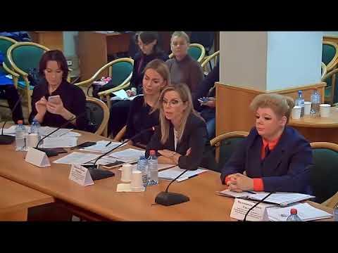 Выступление директора  центра помощи женщинам, в защиту закона о семейно-бытового насилия.