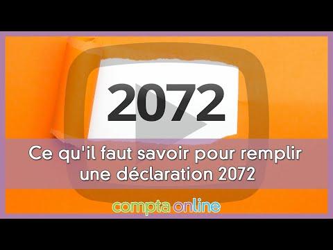 La déclaration 2072 des sociétés civiles