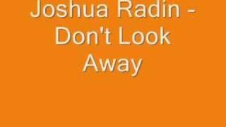 Joshua Radin - Don't Look Away