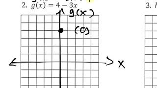 5.1 Ready Graphing Linear And Exponential Functions #1-#3 All