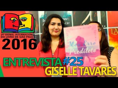 Bienal do Livro 2016   Entrevista com Giselle Tavares
