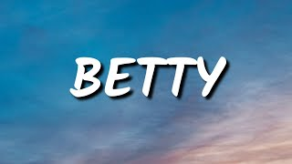 Taylor Swift - betty (Lyrics)