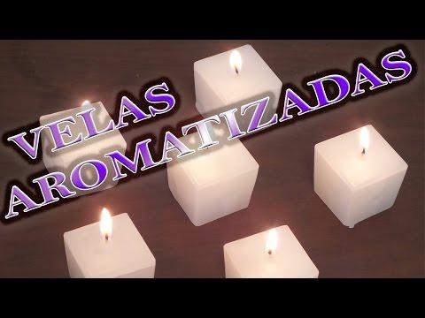velas aromatizadas
