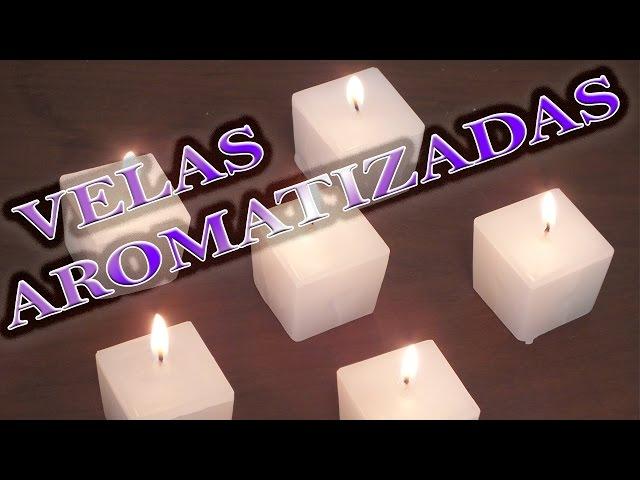 Como Fazer Velas Decorativas Aromatizadas Cantinho Do Video