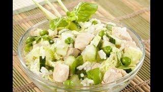 Салат с курицей Простой рецепт