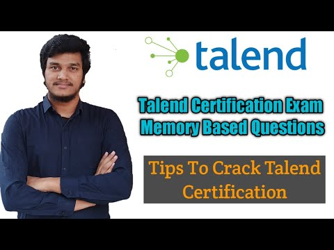54.Few Memory Based questions for Talend Certification Exam l ...
