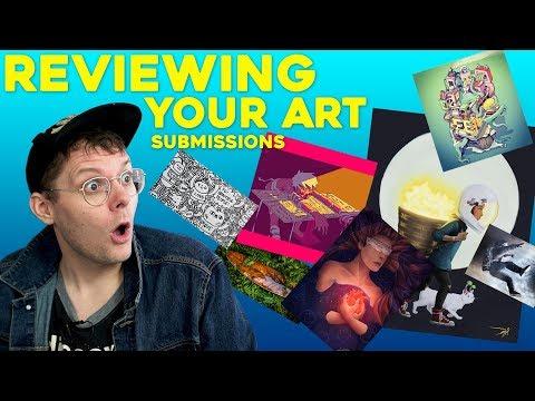 Reviewing YOUR ART! - Art Prompt: Exploration
