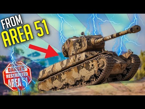 A Tank Designed In The AREA 51 ► World of Tanks M6A2E1 Gameplay
