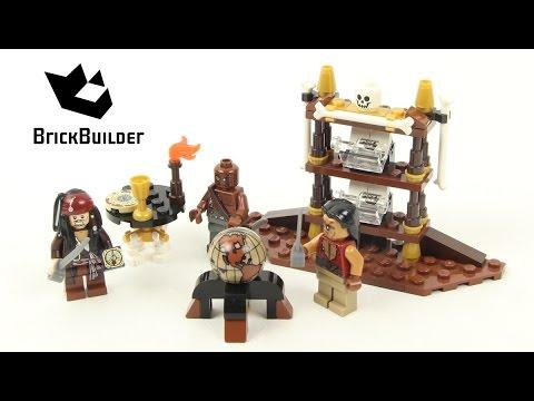 Vidéo LEGO Pirates des Caraïbes 4191 : La cabine du Capitaine