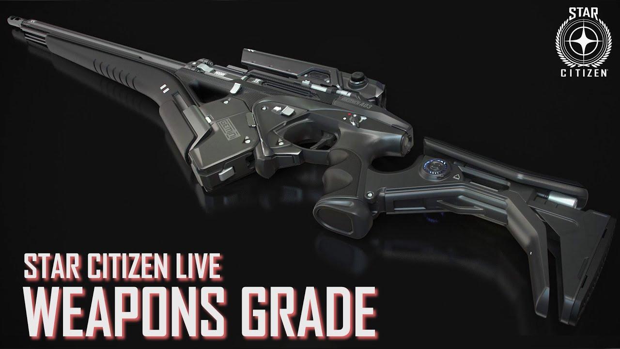 Star Citizen mostra la creazione delle armi FPS