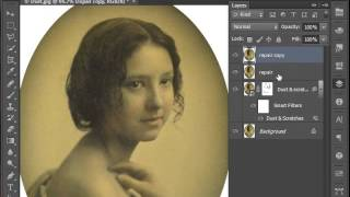 Photo Restoration Video